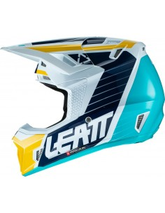 Casco Acerbis Profile 3.0 2017 Blue Orange Fluo