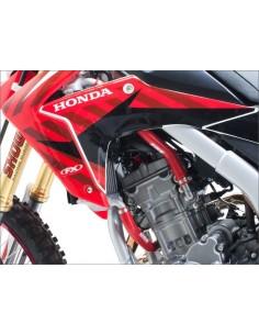 Casco Just1 J32 Moto X Rojo