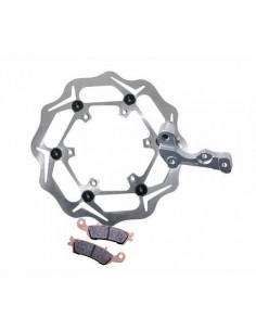 Protector Radiador Aluminio YZ 02-04